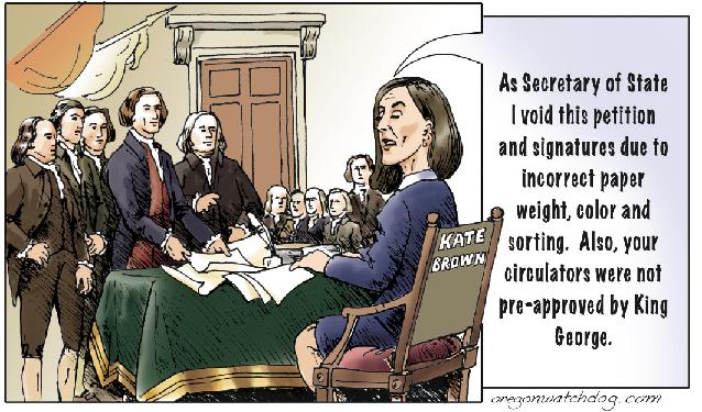 declaration of independence signing cartoon. What if the Declaration of