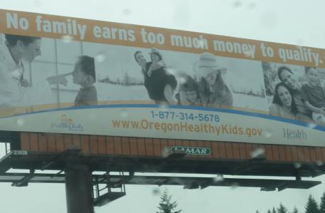 onetime bllbrdnov2010 Oregon Free Government Giveaway Billboard