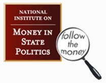 National Institute on Money in State Politics Casinos, public employee unions biggest campaign donors