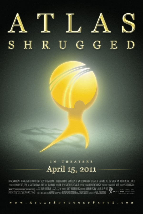 Atlas Shrugged movie opens April 15th in two Portland area ...