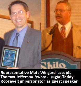 xclub matt teddy 10th Taxpayer Awards: Senator Brian Boquist, Rep. Matt Wingard win top honors