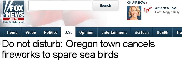 hxxdlxnx fxx Oregon firework ban to save birds makes international headlines