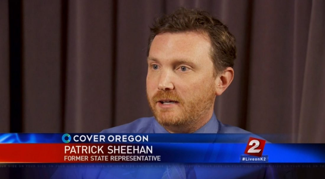 Rep Patrick Sheehan Kitzhabers Cover Oregon cover up: Run John, run!