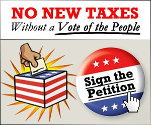 No New Taxes Without a Vote of the People