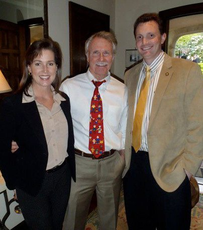 Sheehan with former Gov. Kitzhaber & First Lady Cylvia Hayes