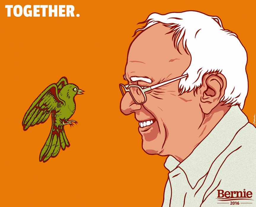 Bernie Sanders - Together meme
