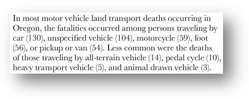 Oregon Vital Statistics Annual Report 2009 Vol. 2 (pg 6-18)