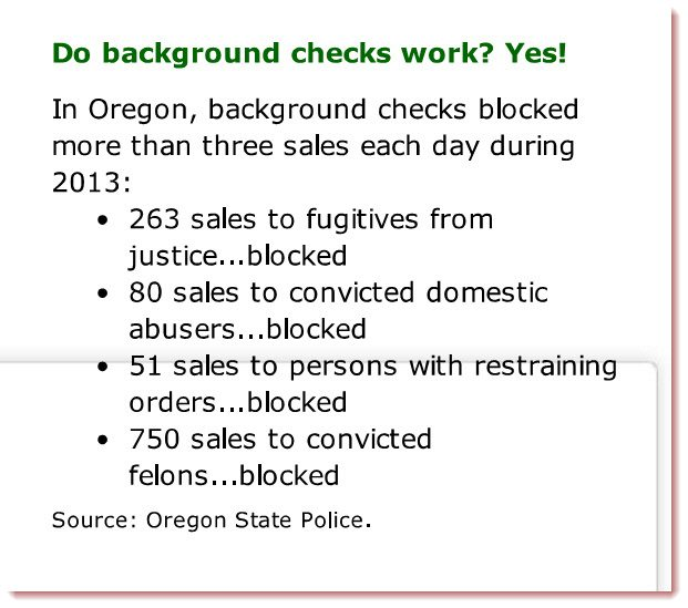Are Oregon firearms background check records purged after ...