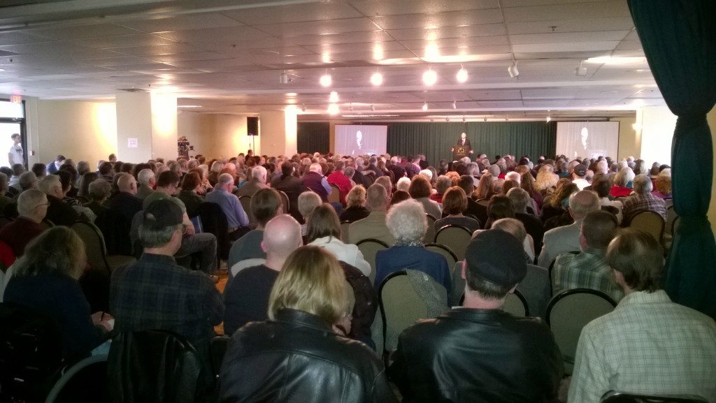 Crowd at the 2014 Conservative Values rally in Clackamas