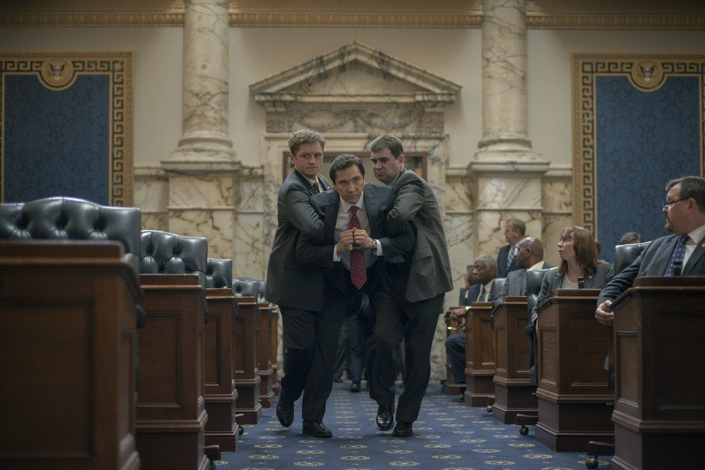 House of Cards quick quorum call move (Season 2, Episode 3 – Chapter 16)