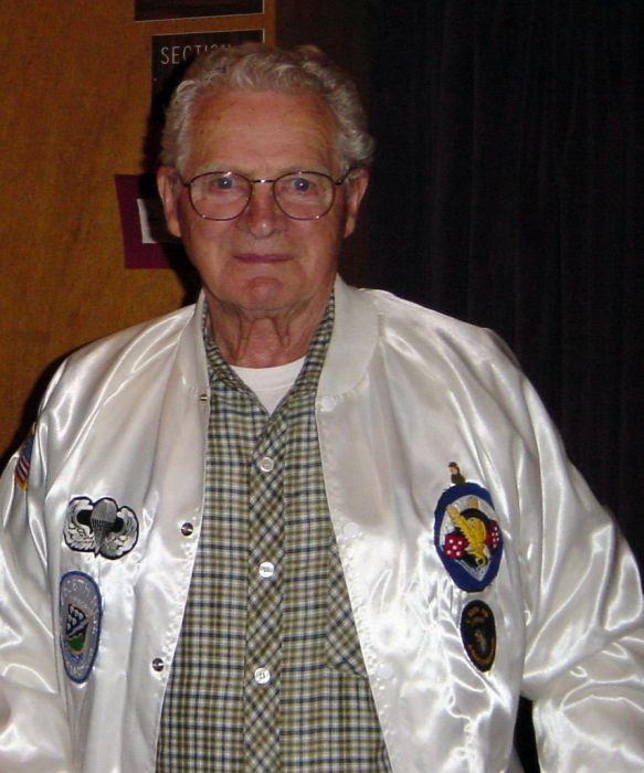 Don Malarkey at Willamette University in 2003