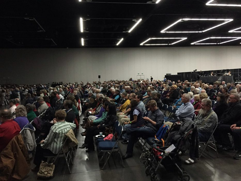Crowd at the 2015 Freedom Rally (Oregon Catalyst)