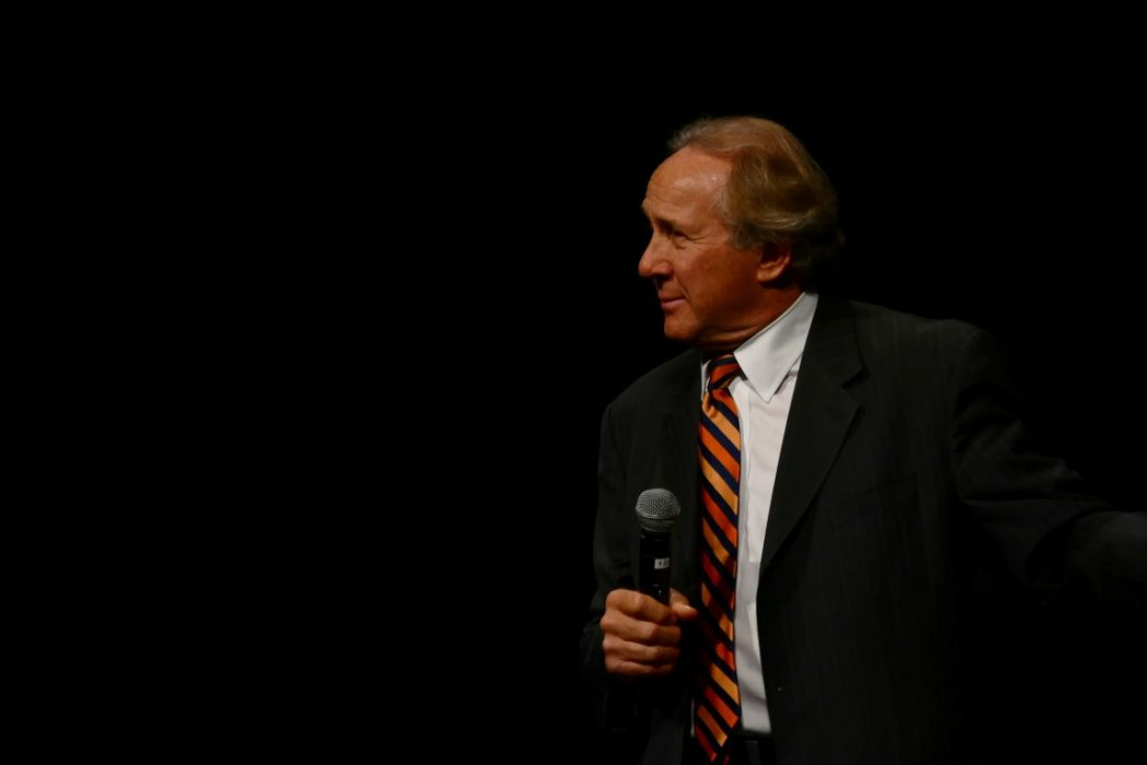 Michael Reagan at the 2015 Freedom Rally 2015 (photo: Jim Barth)