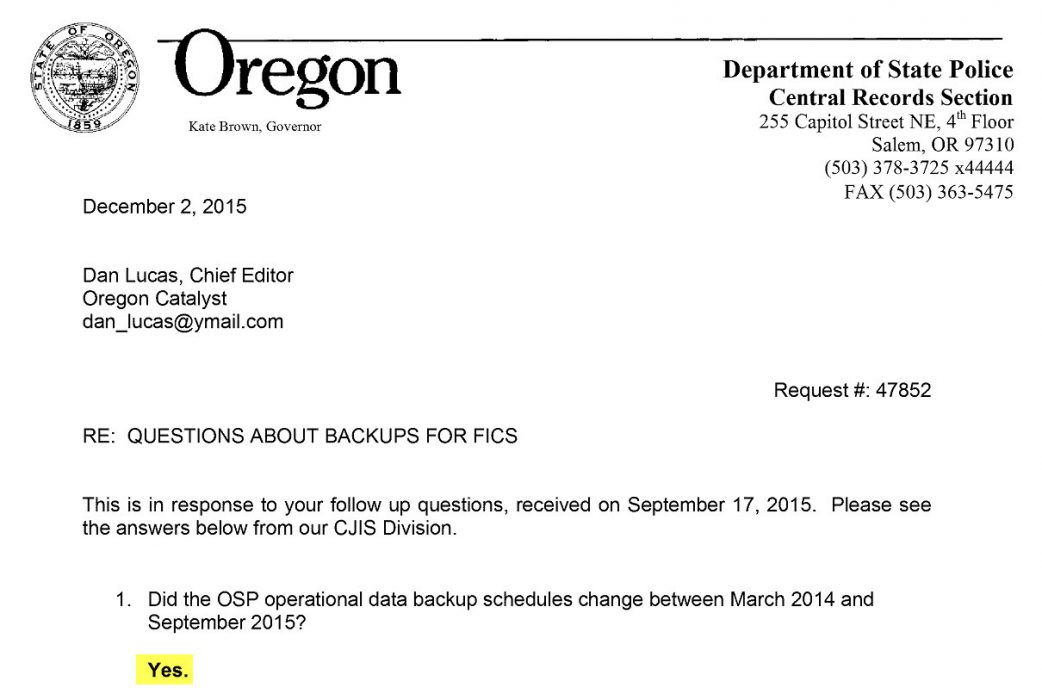 OSP 12-2-2015 letter excerpt