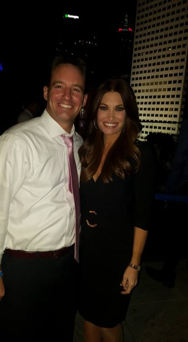 Dan Mason with Fox News' Kimberly Guilfoyle
