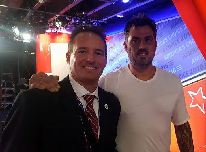 Dan Mason with Lone Survivor Marcus Luttrell