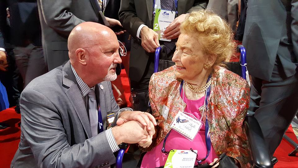 RNC 2016_Rep Bill Post with Phyllis Schlafly