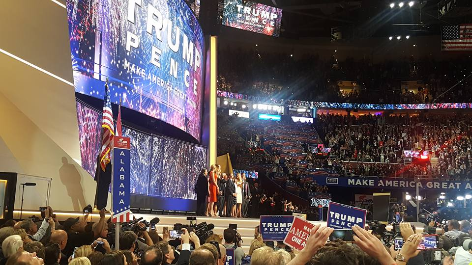 RNC 2016_Trump family