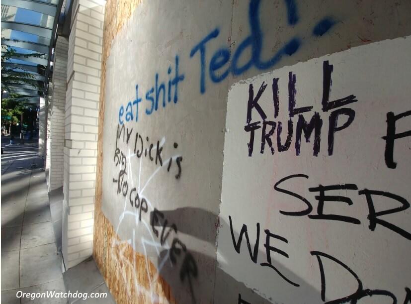 Disturbing photos of Portland riot damage | The Oregon Catalyst